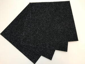 Self-adhesive carpet tile - Mercedes Anthracite
