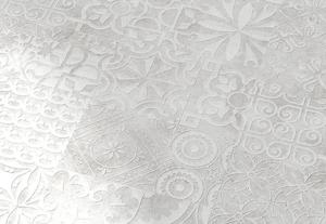 Quadraic Relief White Mat