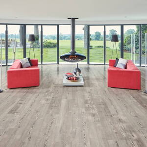 Design Gulv Looselay Long Plank - Weathred Heart Pine