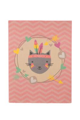 AW Mood Children's Blanket - Feather Cat