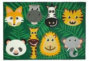 Children's Carpet - Wild Animals
