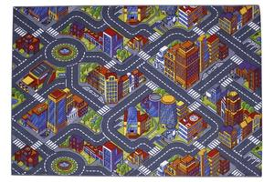 Carpet with road surfaces - Big City