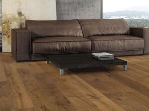 Stave park plank Maxim - Smoked Oak Sauvage brushed NaturaLin 4V