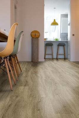 Slim Fit Cork Vinyl Floor - Oak Madrid DJ9956