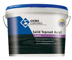 Solid Topcoat Akryl