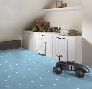 Brice carpet for the children's room - Blue