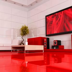 Falquon MAX, Red high gloss without phase, U148