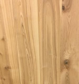 Solid ash plank floor 20x135 mm. with phase