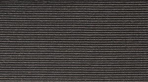 Sisal Boucle Carpet, Coconut - Black