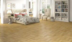Herringbone laminate flooring - Masterpiece Oak