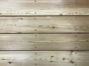Lark patio boards 28x120 mm.