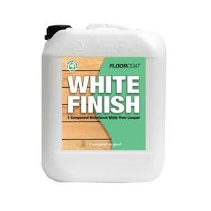 Floorcoat white finish lak