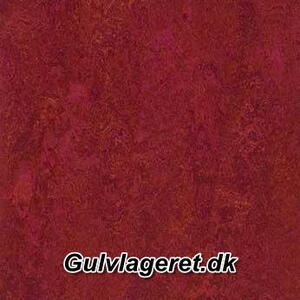 Marmoleum Dual red amaranth t3228