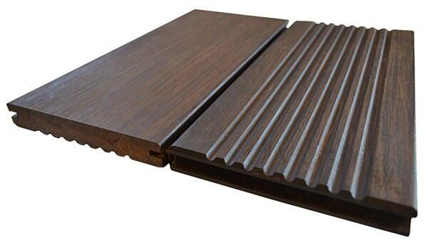 Bambus treme terrassebrædder olieret overflade tilbud