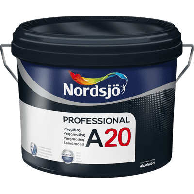 Professionelle A20 Acryl Wandfarbe 10 Liter