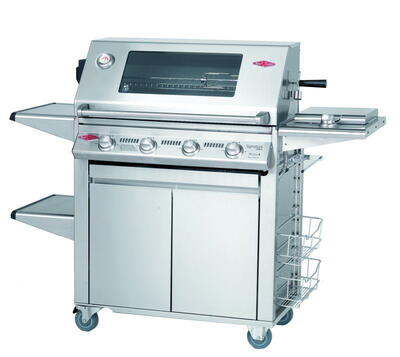 BeefEater Signature S3000s Premium Plus 4 Burner - Stainless steel grate