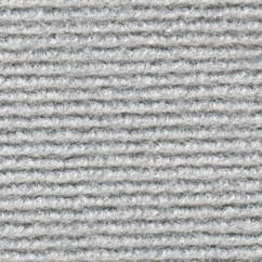 Mess rug with grooves Silver gray 202