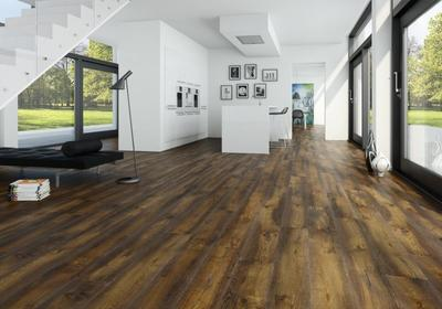 Moland Molaloc + Oak Colchester, Old Fashion wideplank - Living - Oil, black stained, brushed