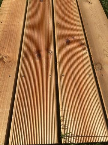 Patio boards brown impregnated 28x145 mm.