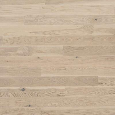 Tarkett Shade Oak Antique White, White matt lacquer