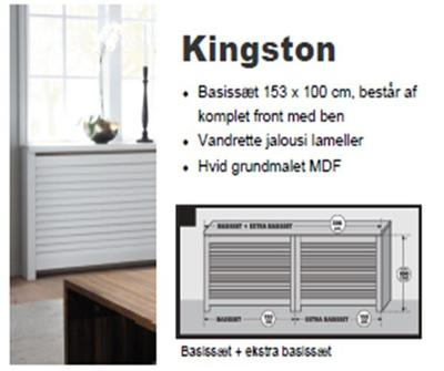 Kingston Radiatorskjuler