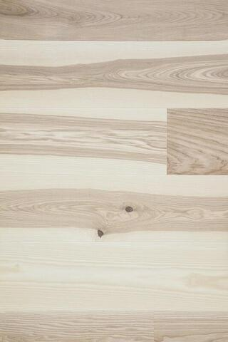 Moland Burghley Wide Plank - Box w / core, UV matte finish, pavé, white, Classic