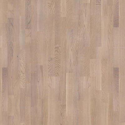 Moland parquet Oak, 22 mm, UV matte finish, white, Classic