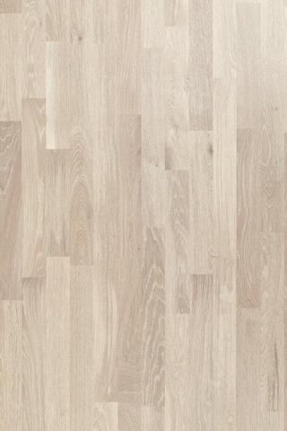 Moland Smart-loc parquet - Oak, UV-white frosted, Living