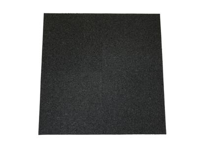 Cheap carpet tiles, Anthracite / Black - RESTPARTI