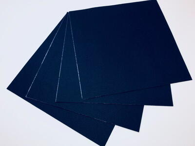 Self-adhesive carpet tile - Scene Dark Blue