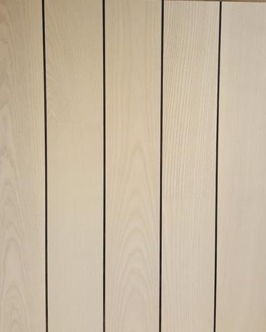 Ash Prima white matt lacquer - Shipboard with black joint