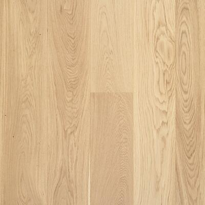 Moland Aston Wide Plank - Oak, UV-white matt finish, Classic, 1830 mm.