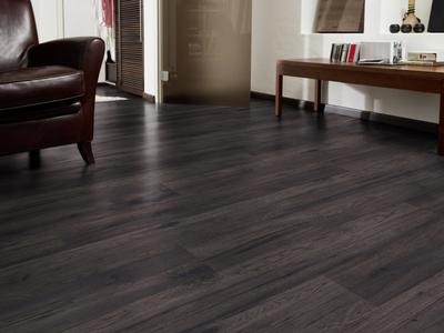 Kaindl laminate flooring - Black Oak Hickory