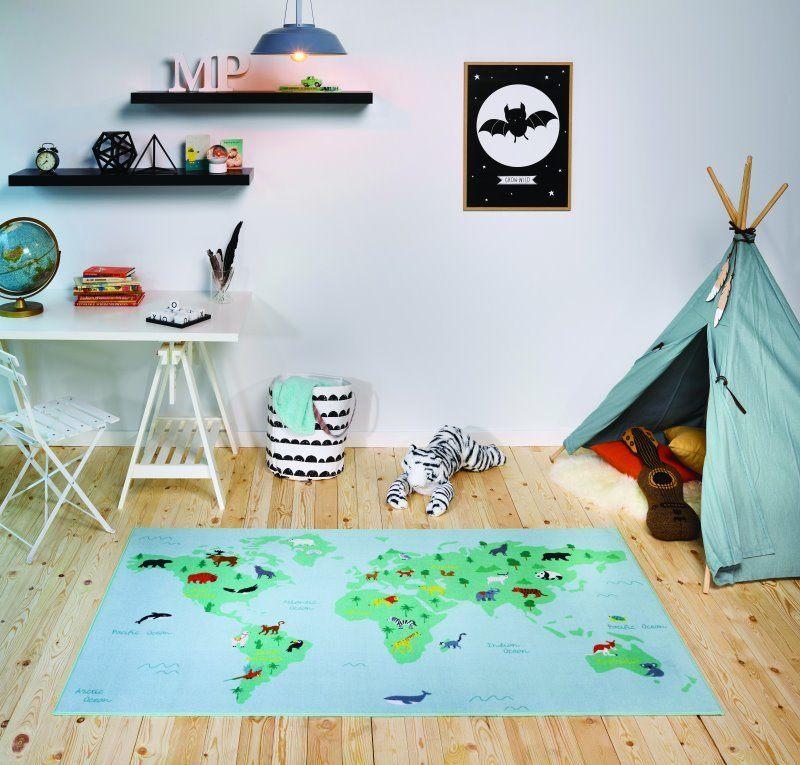 Buy Aw Mood Children S Blanket World Map Offer 53 45