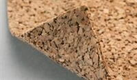 Acoustic cork base 3 mm.