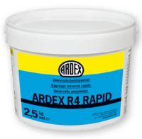 Ardex R4 Rapid - Wall and floor putty