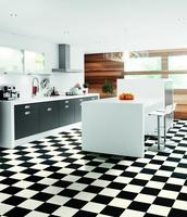 Tarkett vinyl  Albi - Black and White