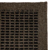 C. Olesen rugs - Luxor - Coffee / Black