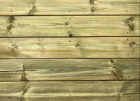Pressure-treated terrace boards 28x120 mm.